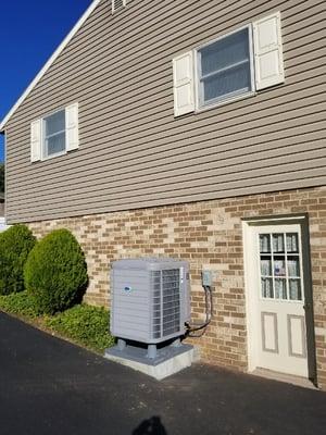 Heat pump in Mountville PA home