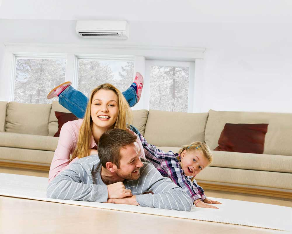 Ductless central air for Central PA homes