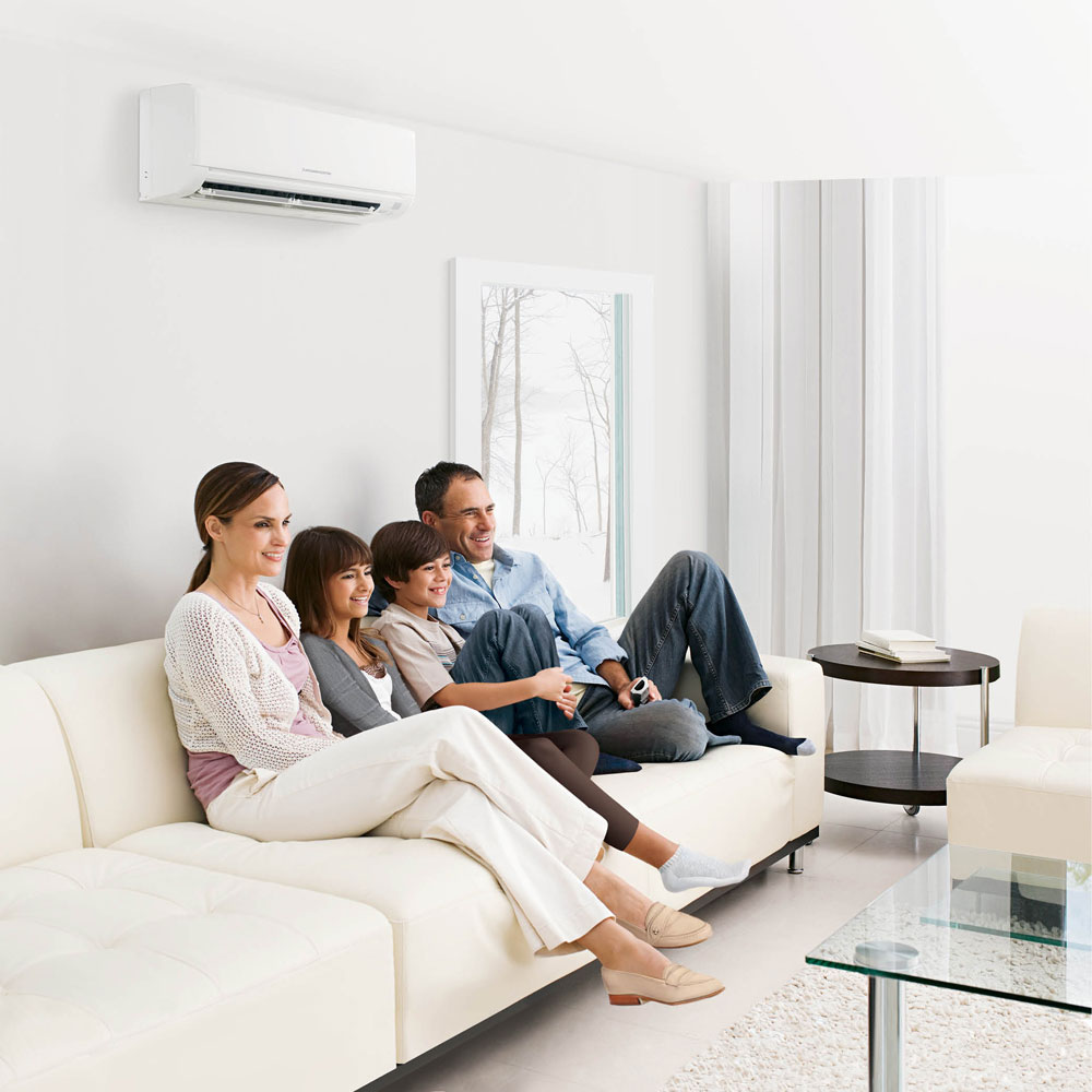Efficient home heating and cooling