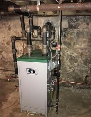 Oil-to-gas conversion in a Harrisburg, PA duplex